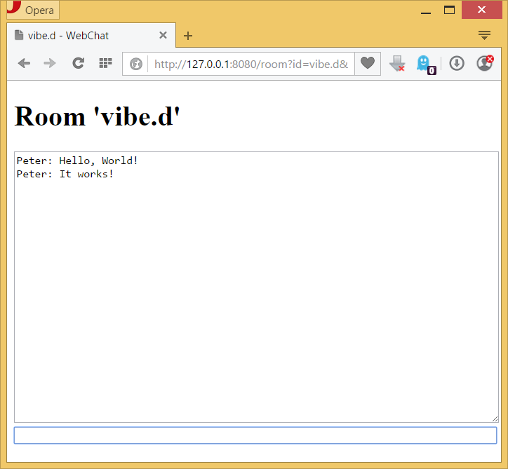 An introduction to vibe d: Writing a scalable chat room service in D