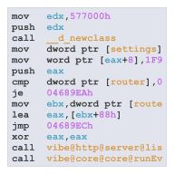 f3f54949db125 Vibe.d is written in the D Programming Language. D is a C-style language  that compiles down to native machine code with minimal runtime overhead.